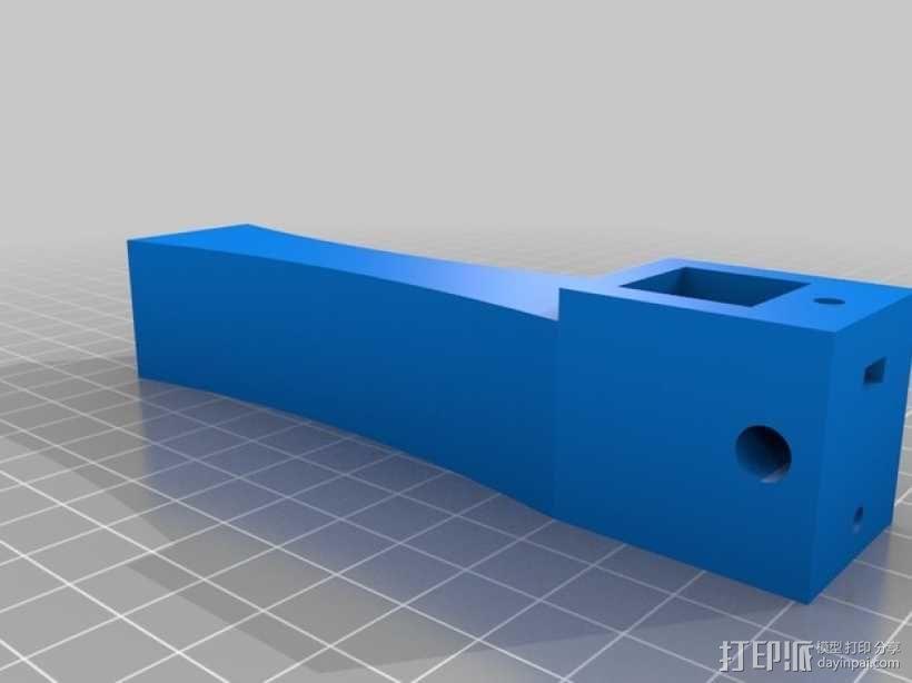 天线导向器支架 3D模型  图1