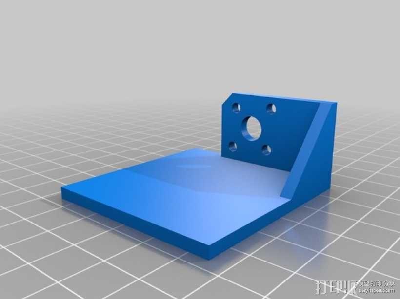 Mobius相机支架 3D模型  图2