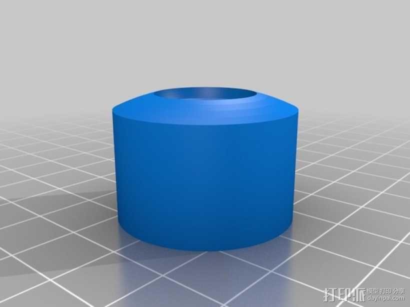 大众汽车轮胎帽盖 3D模型  图1