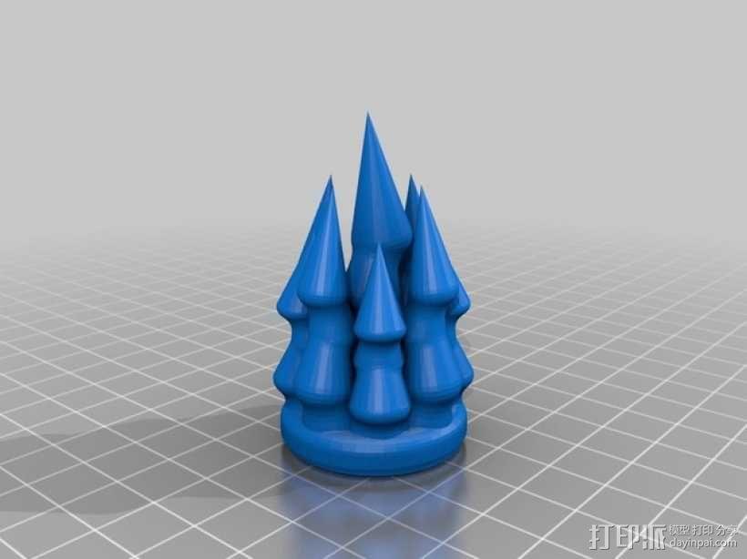 星际之门 照明灯 3D模型  图4