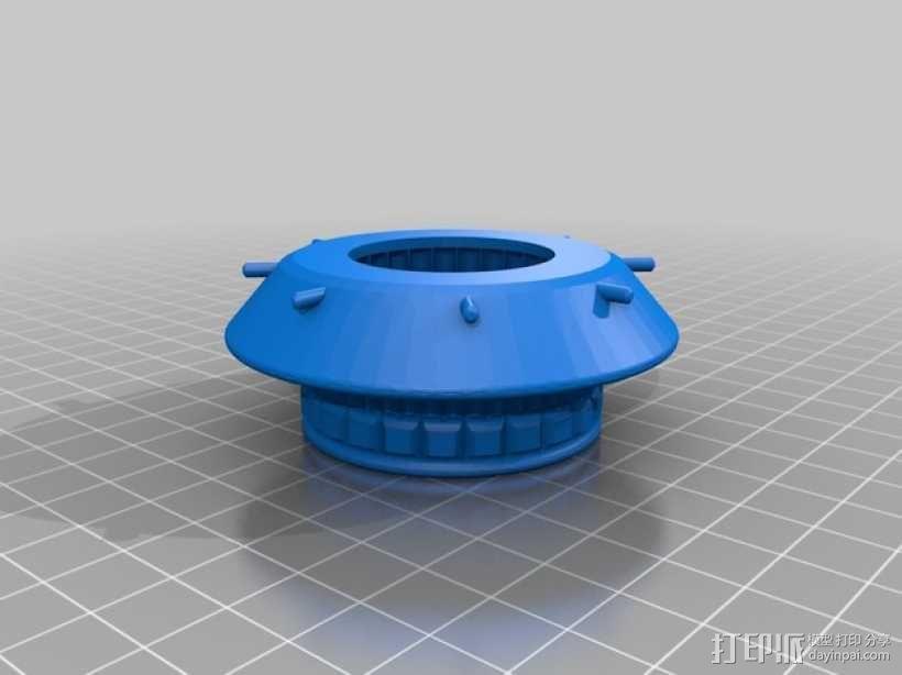 星际之门 照明灯 3D模型  图5