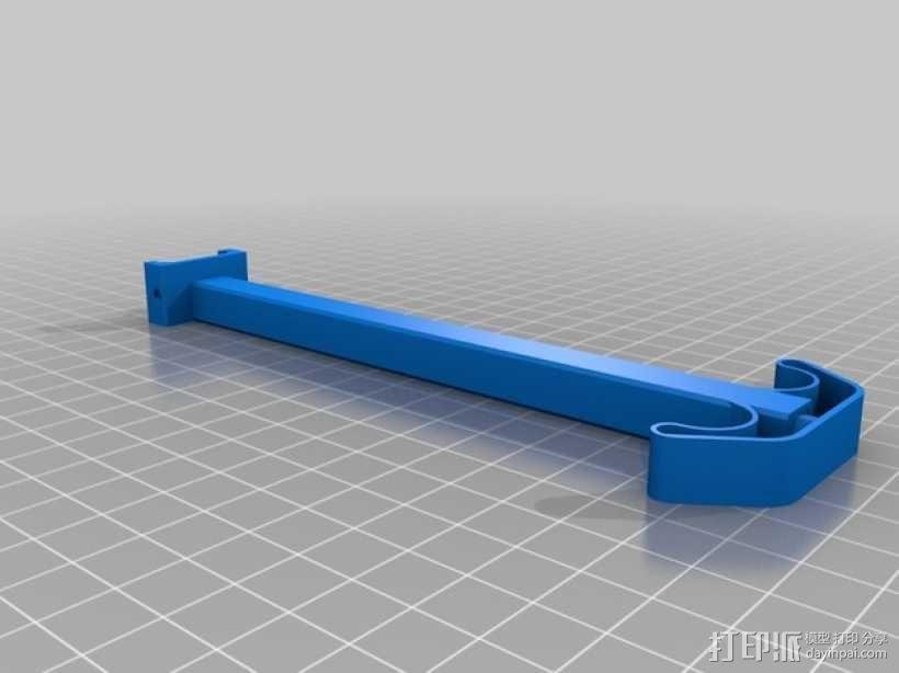 IRIS四轴飞行器支架 3D模型  图2