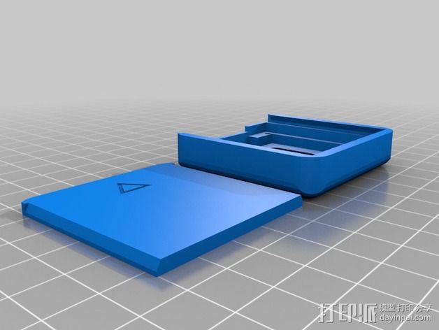 Nokia 5110 LCD显示屏外壳 3D模型  图2