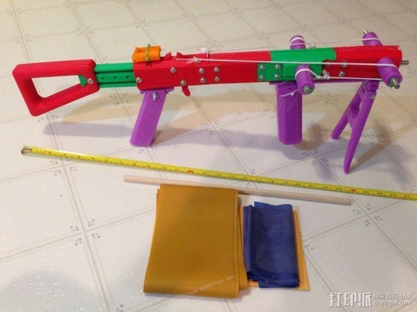 十字弓  3D模型  图1