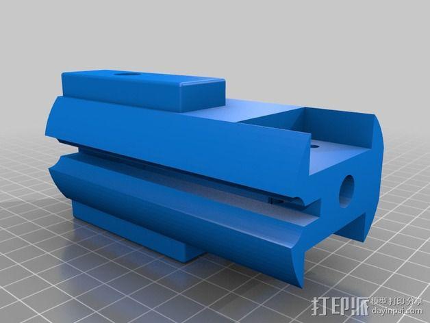十字弓  3D模型  图3