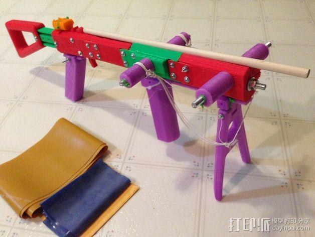 十字弓  3D模型  图24