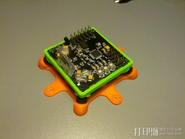Bumblebee KK防振底座 3D模型  图1