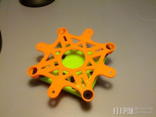 Bumblebee KK防振底座 3D模型  图3