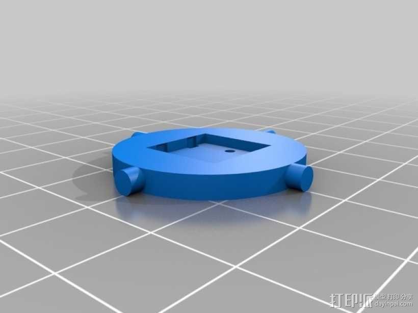 按钮 3D模型  图2