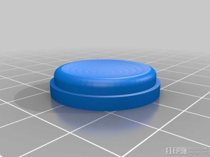 按钮 3D模型  图4