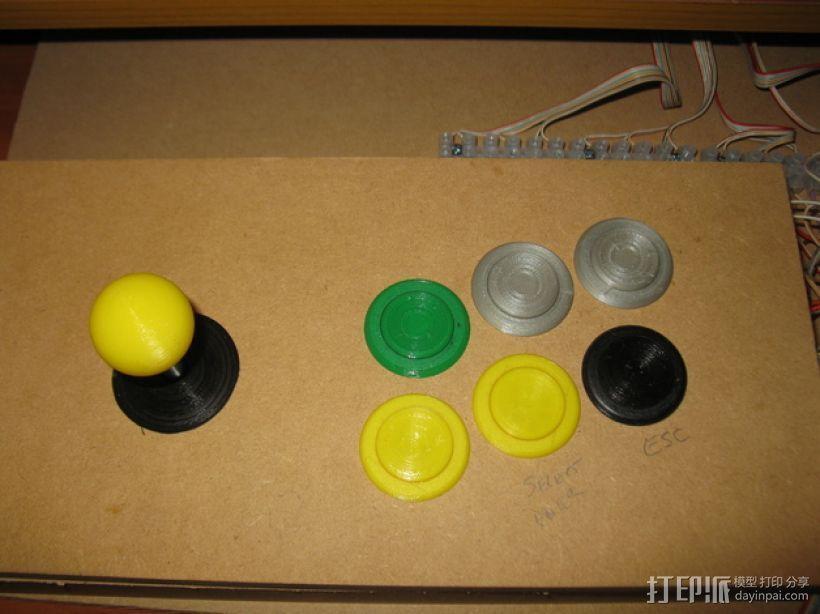 按钮 3D模型  图5