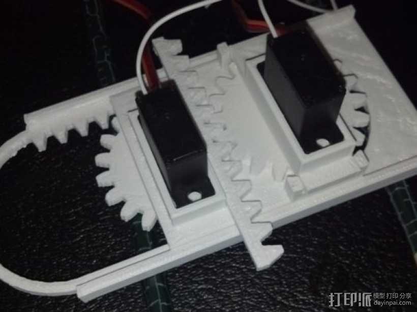 迷你CNC设备 3D模型  图1