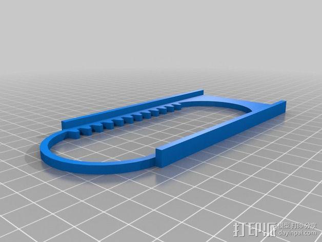 迷你CNC设备 3D模型  图4