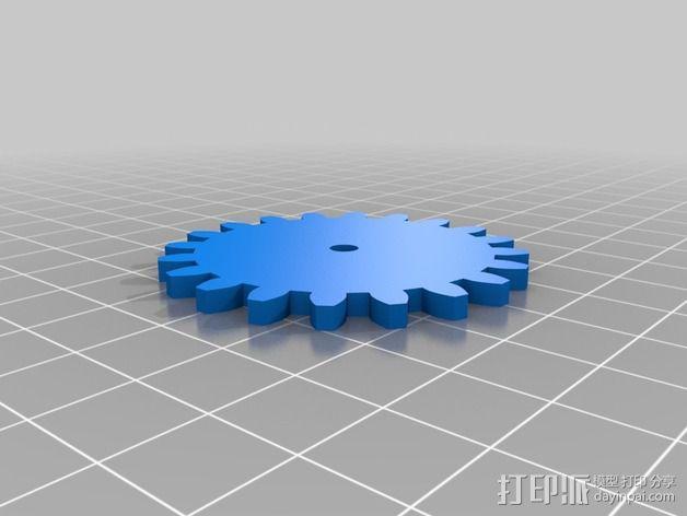 迷你CNC设备 3D模型  图7