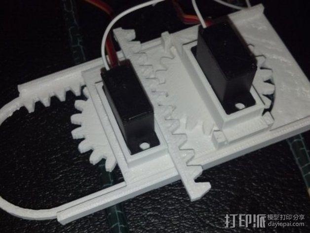 迷你CNC设备 3D模型  图9