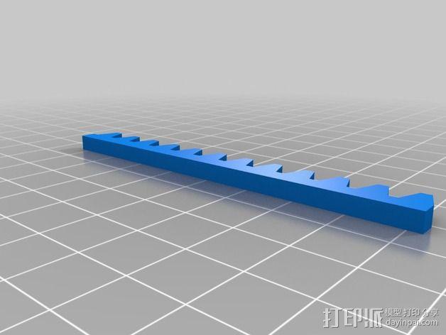 迷你CNC设备 3D模型  图8