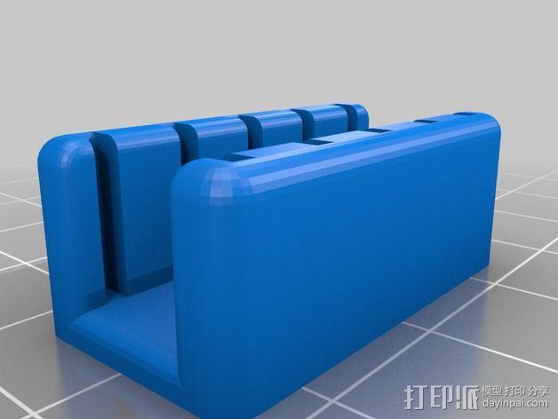 迷你SD卡支架 3D模型  图2