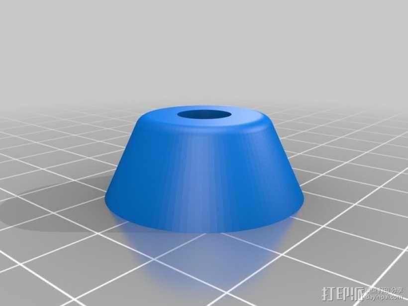 参数化底座 3D模型  图2