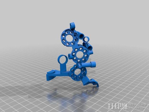 开源机器人躯干 3D模型  图2