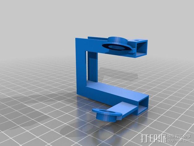 开源机器人躯干 3D模型  图3