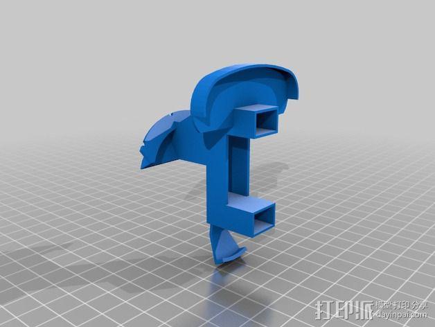 开源机器人躯干 3D模型  图5