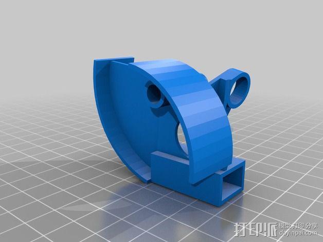开源机器人躯干 3D模型  图12