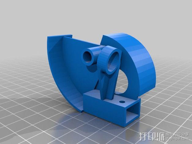 开源机器人躯干 3D模型  图14