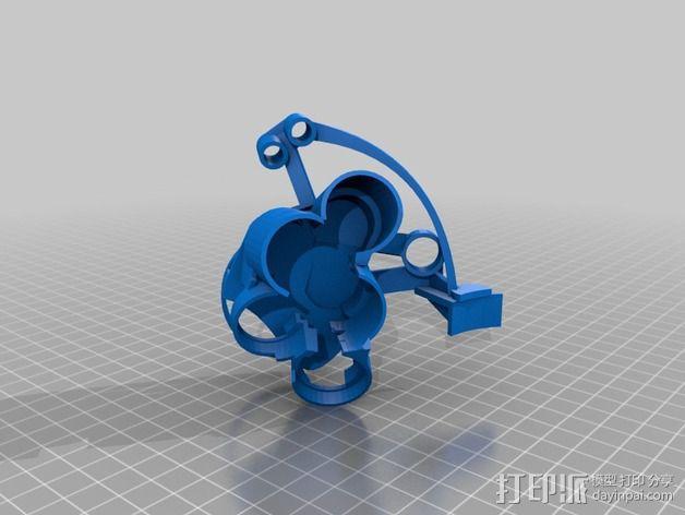 开源机器人躯干 3D模型  图21