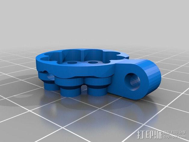 开源机器人躯干 3D模型  图23