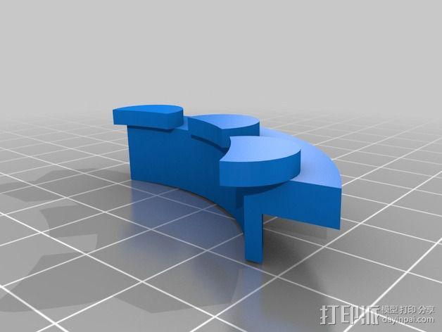 开源机器人躯干 3D模型  图25