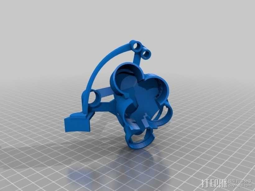 开源机器人躯干 3D模型  图29