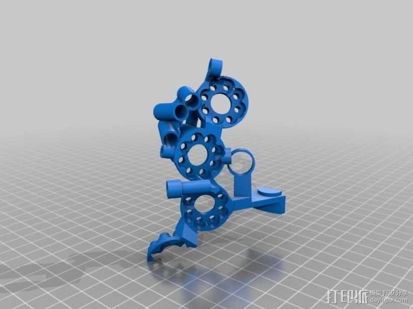 开源机器人躯干 3D模型  图31
