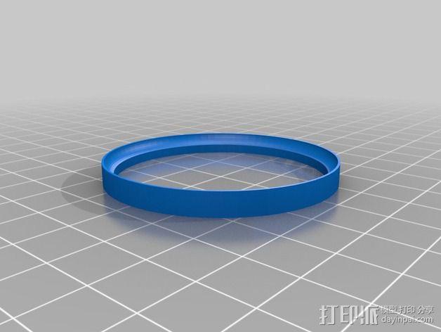 滚珠轴承 3D模型  图4