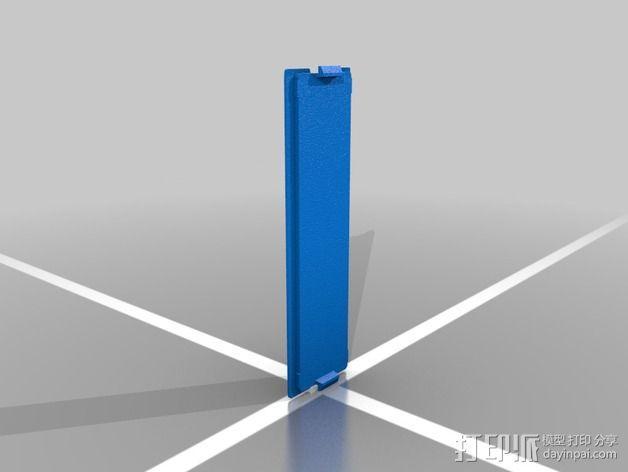 LCD显示屏外壳 3D模型  图1