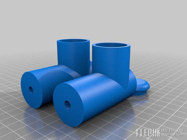 3D扫描仪支架 3D模型  图5