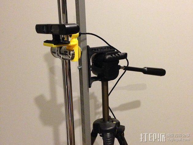 3D扫描仪支架 3D模型  图4