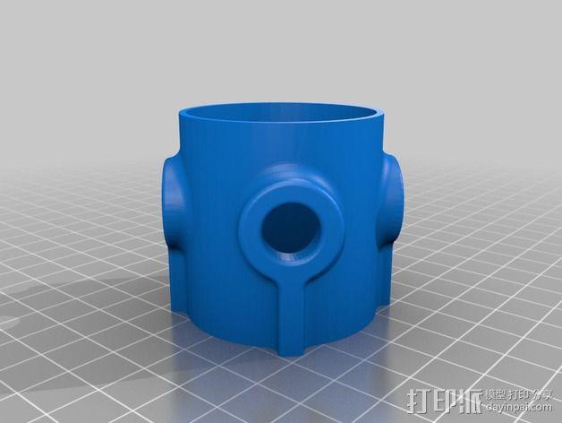 阀芯模型 3D模型  图2