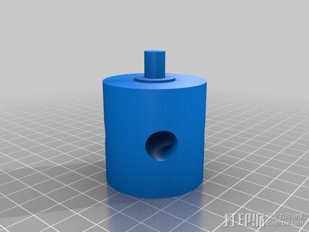 阀芯模型 3D模型  图3