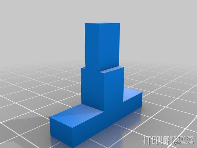 阀芯模型 3D模型  图5