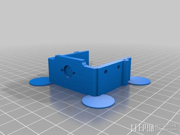 常平架 3D模型  图2