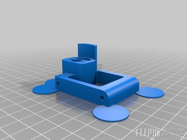 常平架 3D模型  图3