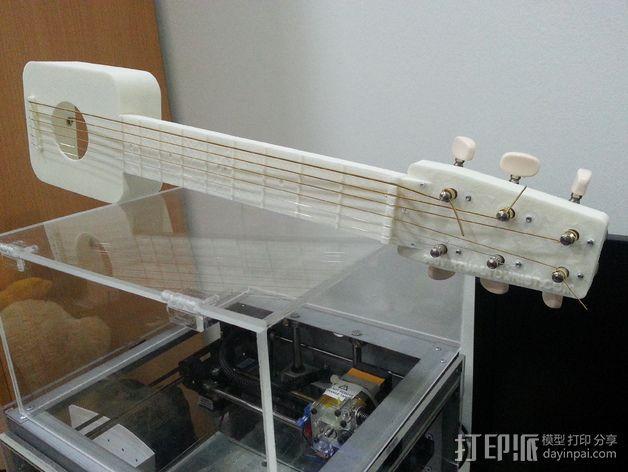 吉他 3D模型  图1