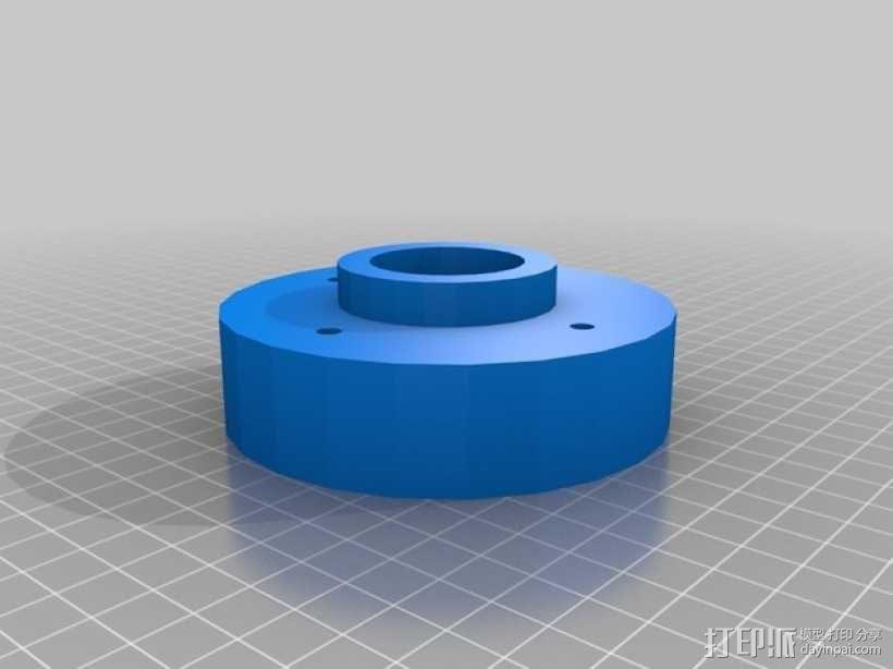 坦克履带 3D模型  图3
