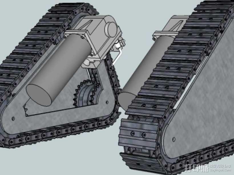坦克履带 3D模型  图7