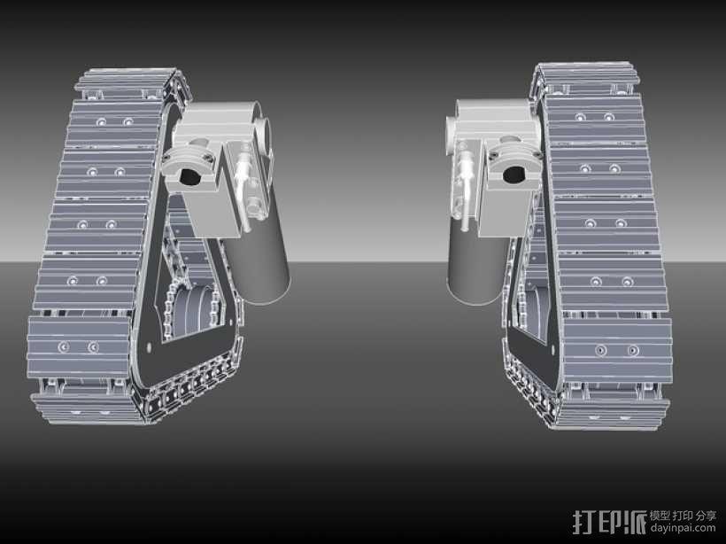 坦克履带 3D模型  图6