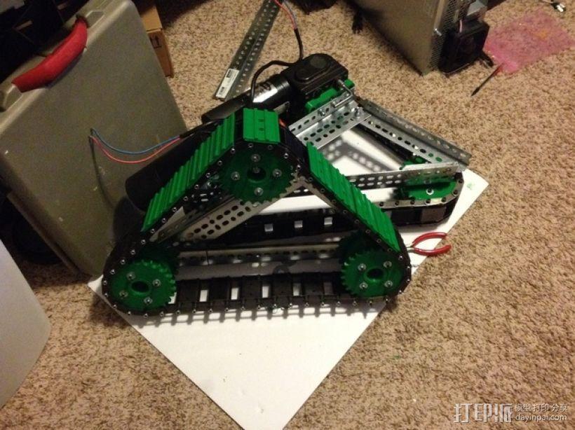 坦克履带 3D模型  图15