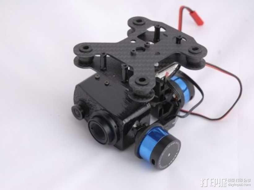 Tamarisk 320相机常平架 3D模型  图1