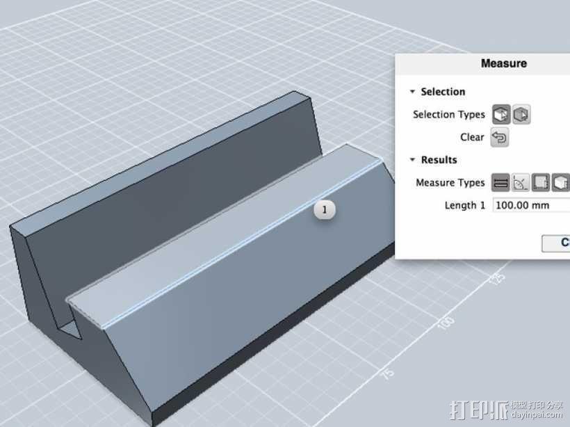 iPhone4S手机底座 3D模型  图4