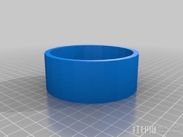 Tilly Tec灯头保护环 3D模型  图2