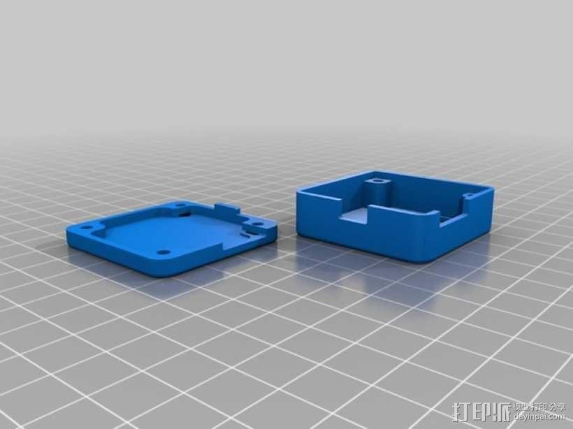 naze32多轴飞行器 飞行控制器小盒 3D模型  图1